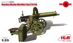 Russian Maxim Machine Gun m1910 1/35