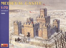Medieval Castle XII - XV c. 1/72