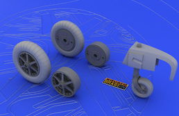 Me 109E wheels EDU 1/32