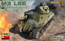 M3 Lee tank (early production ) (with interior) 1/35
