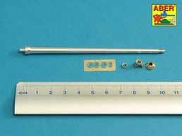 7,5cm gun barrel with single baffle muzzle brake for German Tank VK3002(DB) 1/35 Amusing Hobby