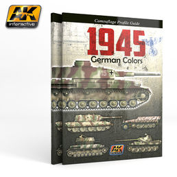 1945 GERMAN COLORS. CAMOUFLAGE PROFILE GUIDE
