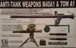 106 mm + TOW / ANTITANK WEAPONS 1/35