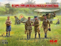 Polikarpov U-2 / Po-2VS with Soviet Pilots 1/48