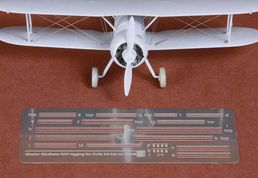 Gloster Gladiator I/II rigging set  1/72  for AIRFIX