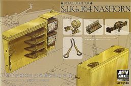 Detail Set for Sd.Kfz.164 Nashorn (designed to be used with AFV Club kits) 1/35