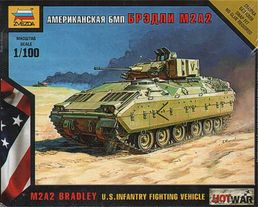 M 2 Bradley  US Infantry Fighting Vehicle 1/100  SNAP