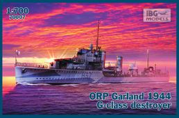 ORP (ex HMS) Garland 1944 G-class Destroyer 1/700