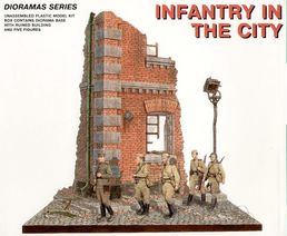 Infantry in the city 1/35