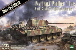 1/35 PzKpfw,V Panther A Late 2 in 1 (Sd.Kfz.171/268) w/o interior