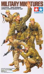 German Africa Korps Infantry 1/35