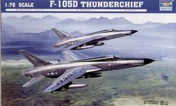 Republic F-105 D Thunderchief 1/72