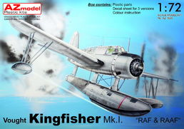 "Vought Kingfisher Mk.I ""RAF & RAAF"" floatplane 1/72"