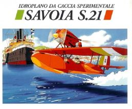 Porco Rosso Savoia S.21 1/72
