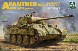 Panther A mid-late prod. (with zimmerit & interior) 1/35