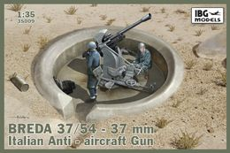 Breda 37/54 37mm Italian Anti Aircraft Gun 1/35