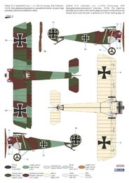 "Special Hobby 100-SH32076 Fokker D.II /""Grünzweig`s Planes/"" in 1:32"