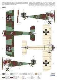 "Special Hobby 100-SH32076 Fokker D.II /""Grünzweig`s Planes/"" in 1:32"