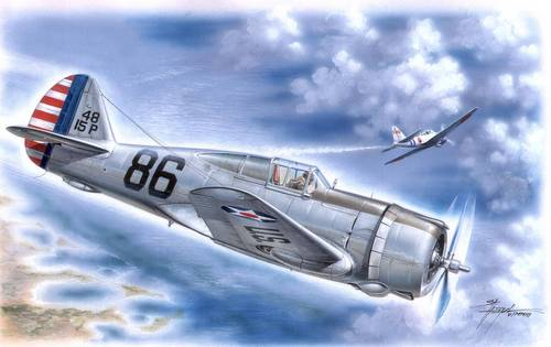 "Curtiss P-36A Hawk USAAF ""Pearl Harbour"" 1/32"