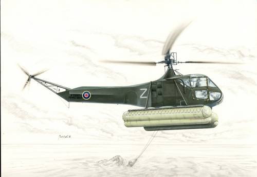 Sikorsky R-4 Hoverfly with floats 1/48