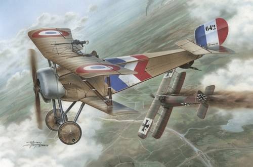 Nieuport 11 Bebe French Aces 1/32