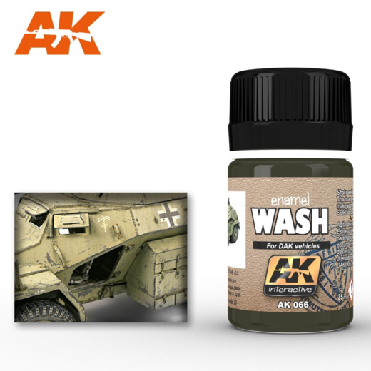 WASH FOR AFRIKA KORPS VEHICLES