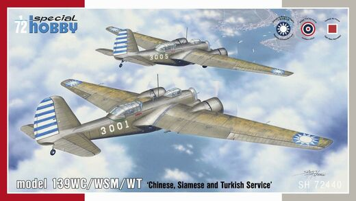 model 139WC/WSM/WT 'Chinese, Siamese and Turkish Service' 1/72