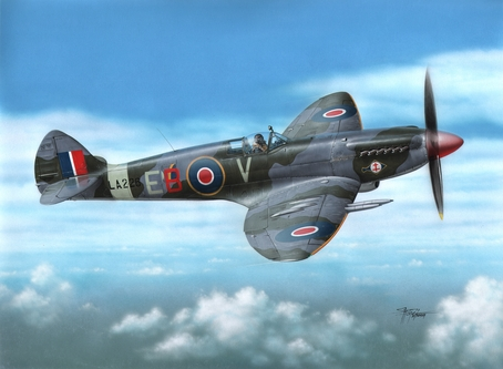 Supermarine Spitfire F.21 Post-War 1/72