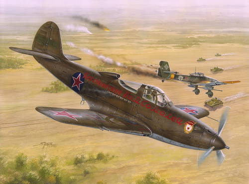 Bell P-39N/Q Airacobra Soviet Aces 1/32