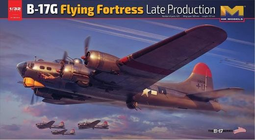 Boeing B-17G Flying Fortress (late production) 1/32