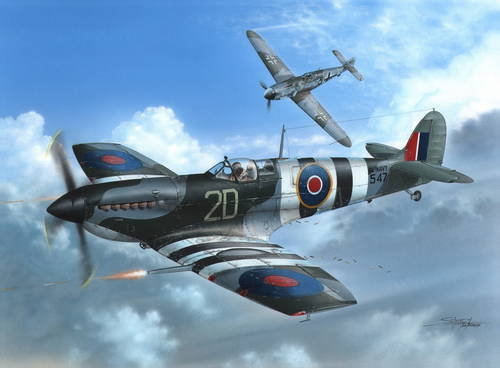Supermarine Seafire III D-Day 1/48