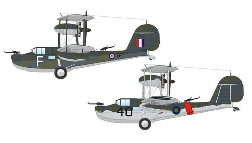 Supermarine Walrus Mk.I (early) 1/48