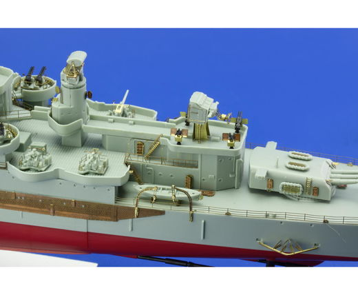 USS Indianapolis CA-35 railings ACA 1/350