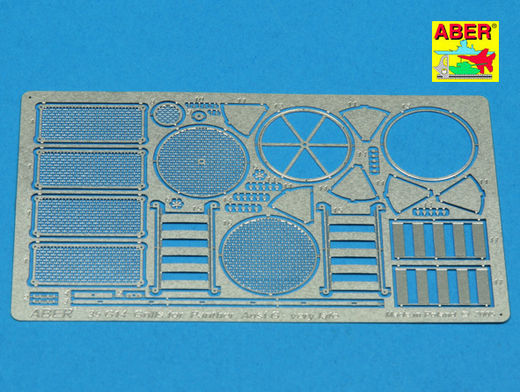 Grilles for Pz.Kpfw.V Panther Ausf.G late model Sd.Kfz.171 (Tamiya) 1/35