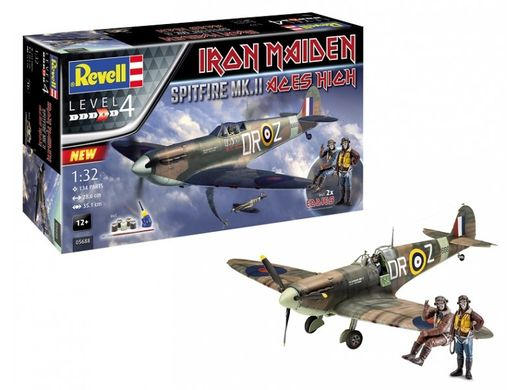 "Iron Maiden Spitfire Mk.II ""Aces High"" 1/32"