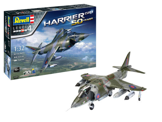 Hawker Harrier Gr.I 50 years gift set 1/32