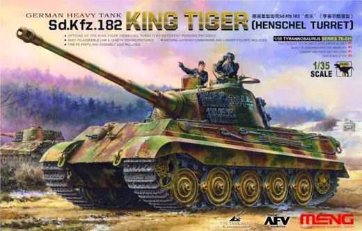 "Sd.Kfz.182 ""King Tiger"" (Henschel Turret) 1/35"