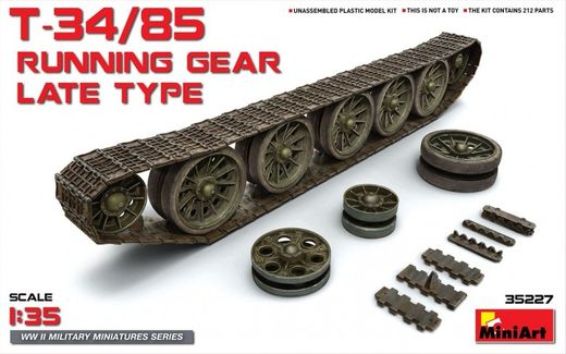 T-34/85 Running Gear (Late Type) 1/35