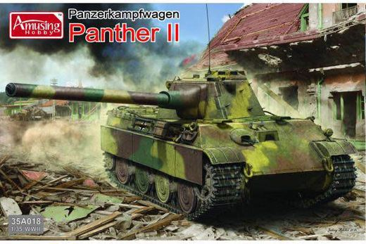 German Panther II tank project (2in1) 1/35