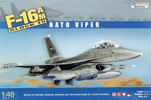 F-16AM Block 15 MLU Fighting Falcon NATO 1/48
