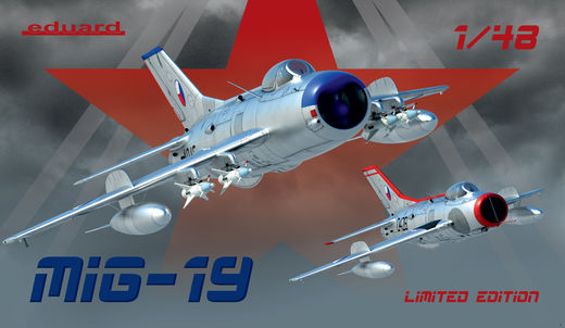 MiG-19 1/48  Limited edition