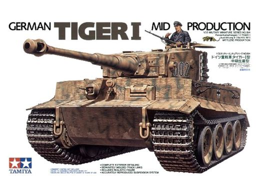 Tiger I Mid Production 1/35