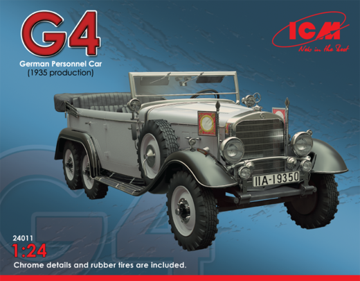 Mercedes Typ G4 m1935 command car 1/24