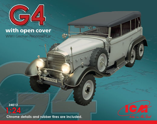 Mercedes Typ G4 with open cover 1/24