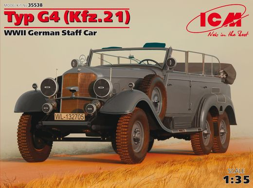 Mercedes-Benz G4 staff car (Kfz.21) 1/35
