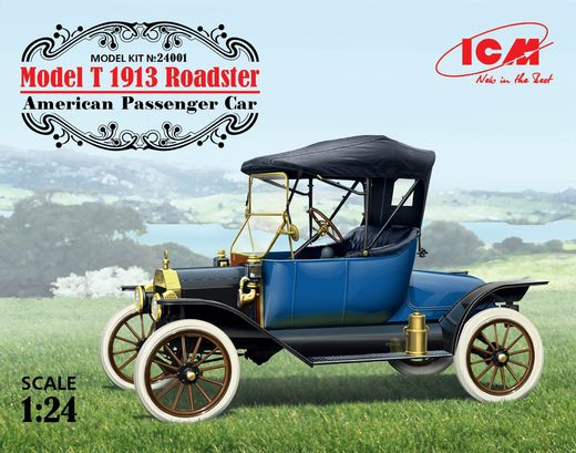 Ford Model T 1913 Roadster 1/24