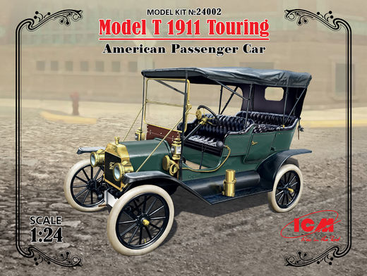Ford Model T 1911 Touring 1/24
