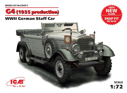 Mercedes-Benz type G4 m1935 1/72