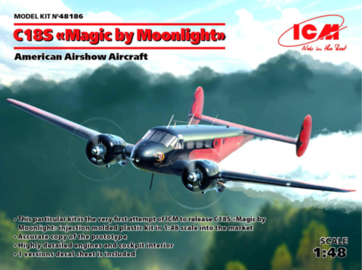 "Beechcraft C18S ""Magic by moonlight"" 1/48"