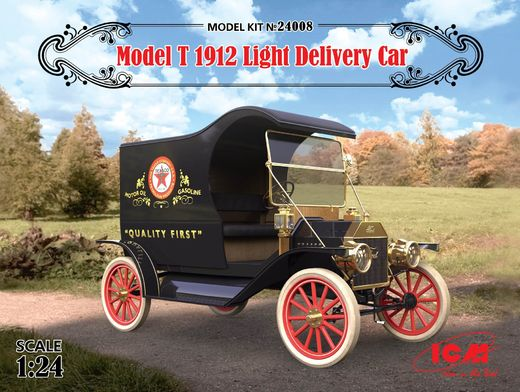 Ford Model T 1912 Light Delivery Car 1/24